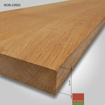 Natural Oak board 2000x350x20mm