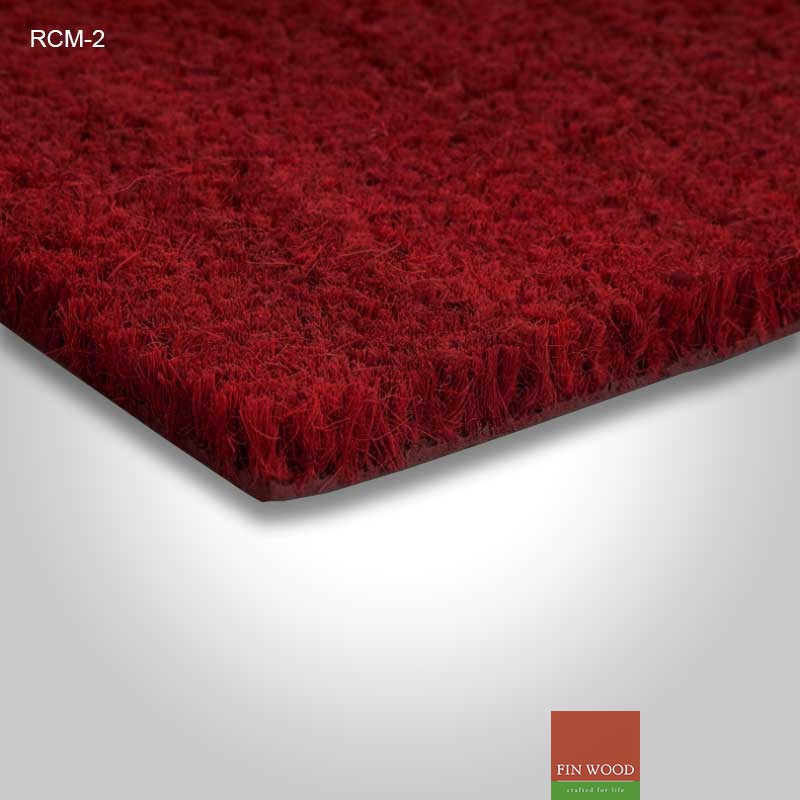 Red Coir Door Matting