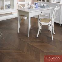 Engineered chevron flooring parquet