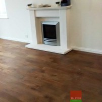 Fitting Smoked Oak Solid Wood Floors