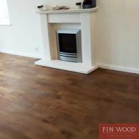 Fitting Smoked Oak Solid Wood Floors