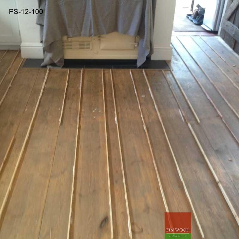 Best Soundproofing For Floors Pine slivers - gap filling floor boards