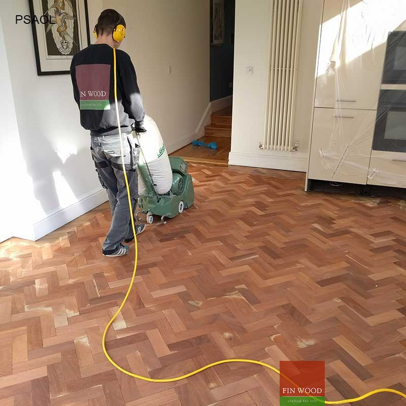 Parquet Sanding and Oiling