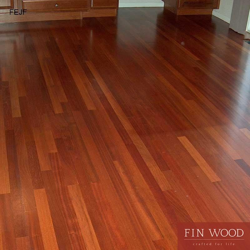 Jatoba wood flooring - Engineered Jatoba Fitting