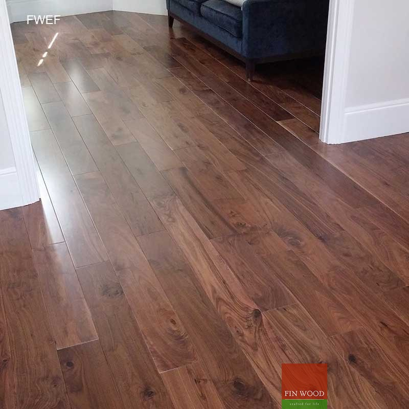 Fitting Engineered Walnut Flooring