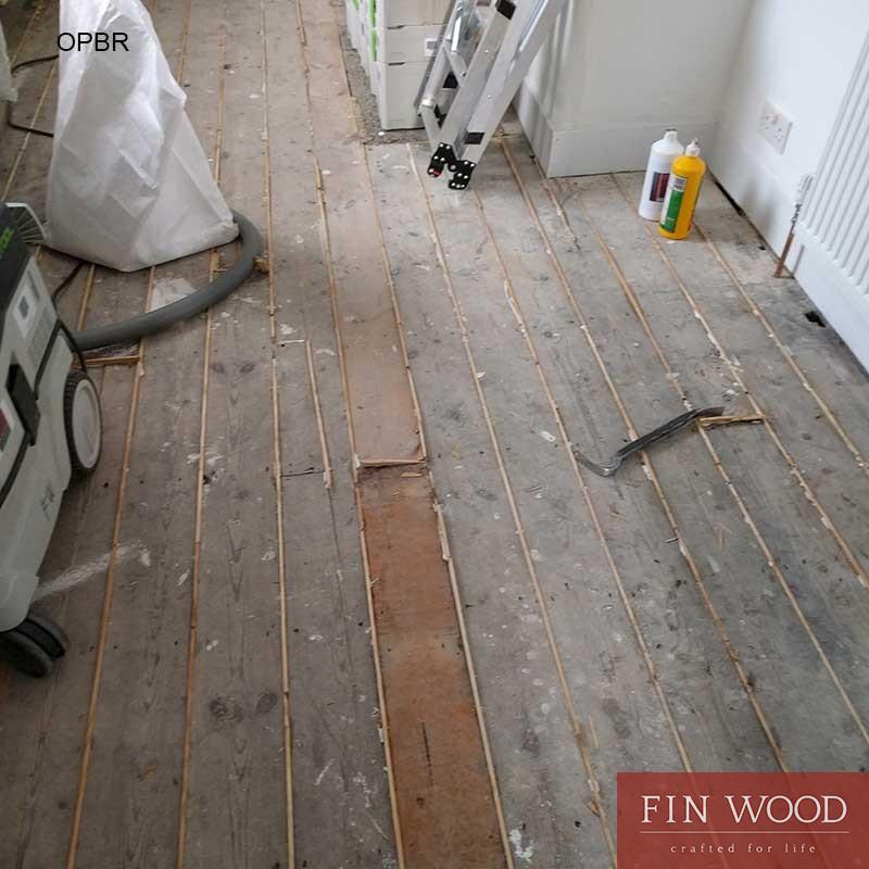 Original Pine Boards Restoration