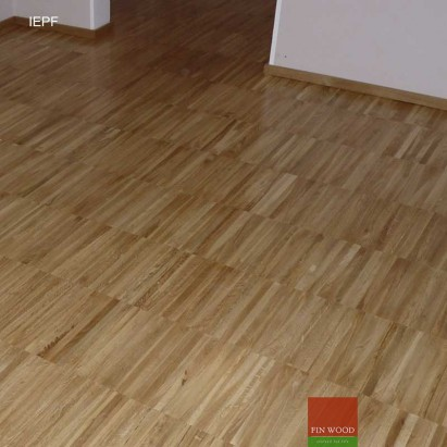 Industrial edge Parquet flooring