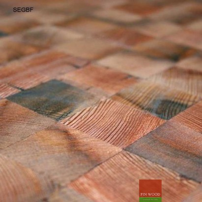 Square End Grain Blocks Flooring