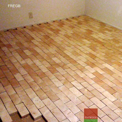 Fitting Rectangle End Grain Blocks - London