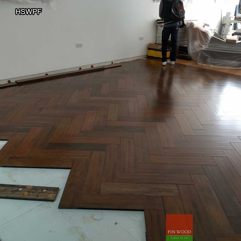 Herringbone solid wood parquet flooring parquet floor for Parquet wood flooring