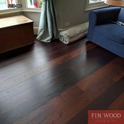 Fitting engineered boards - Dark coloured