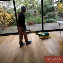 Hardwood Floor Professional Deep Cleaning - Scrubbing
