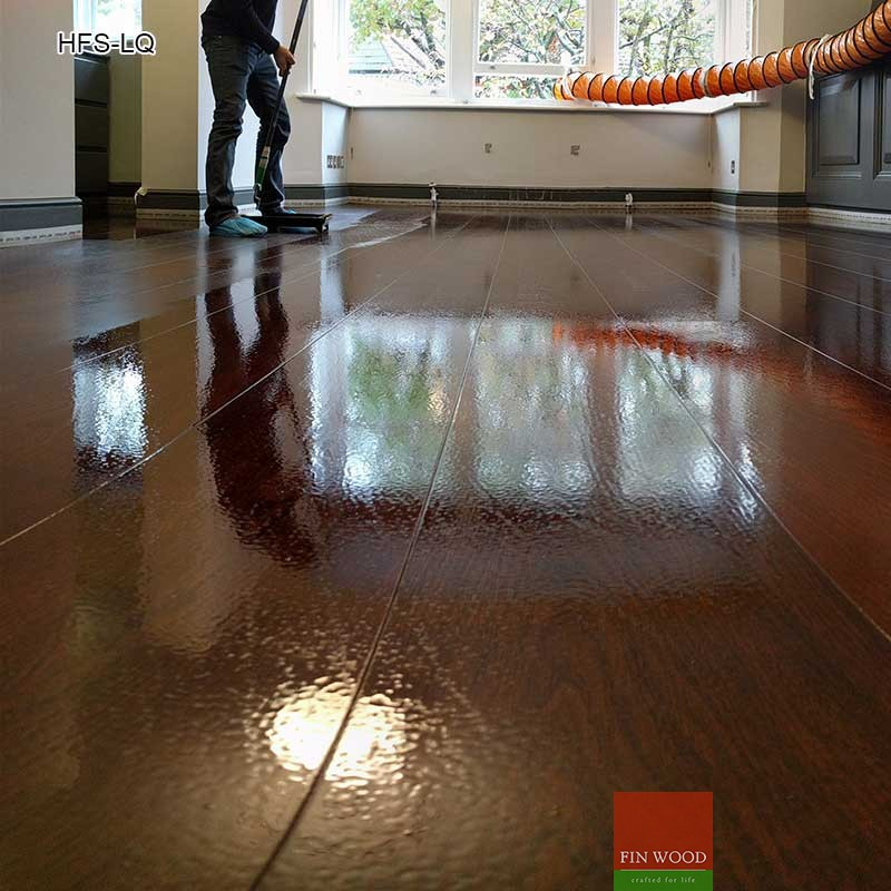 Hardwood Floor Sanding and Lacquer finish