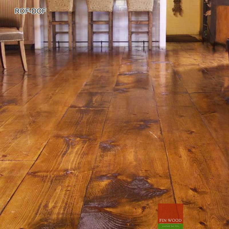 Rustic Oak Flooring - Rustic Flooring and Distressed Wood