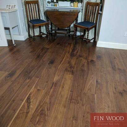 Fitting Engineered Walnut Flooring