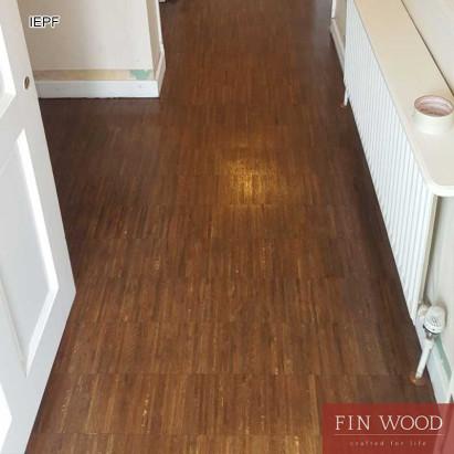 Industrial edge Parquet flooring