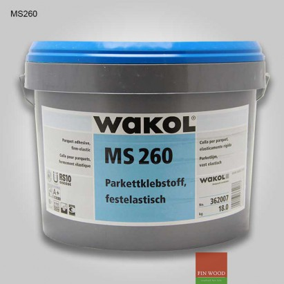 Wakol MS 260 Parquet adhesive firm-elastic applying method