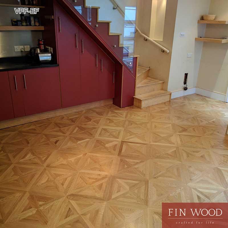 Versailles Parquet Fitting - flooring by FinWood Ltd.
