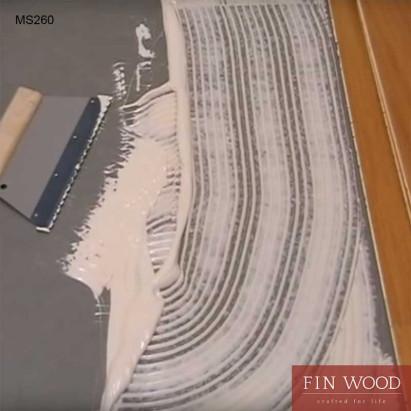 Wakol MS 260 Parquet adhesive firm-elastic applying method