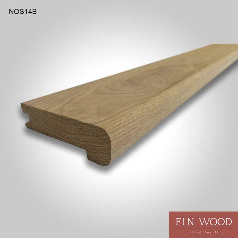 Stair Nosing - solid natural Oak