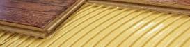 Adhesives for glued hardwood floors