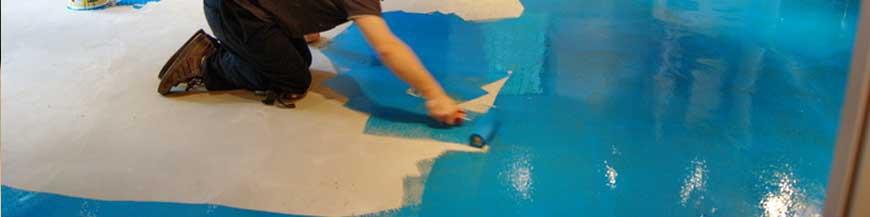 Liquid and UPVC DPM, concrete sub floor repair