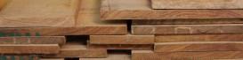 Oak boards - unsealed
