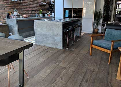 A well fitted wooden floor will bring years of enjoyment