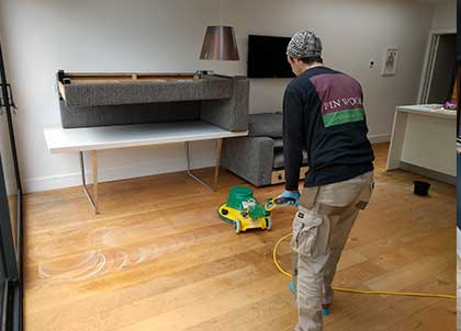 Our specialist machinery removes ingrained dirt and grime