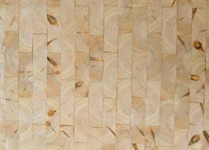 A natural grade of wood