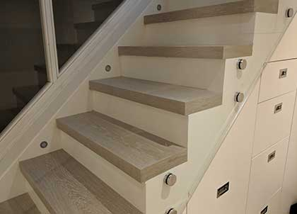 Our bespoke work has created a stunning new architectural feature