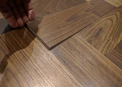 A well machined floor will fit tightly together