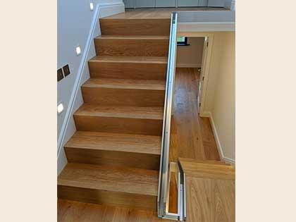 Engineered Oak Wood Flooring fitted in award winning eco apartment in Kensington, W8 #CraftedForLife