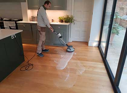 Hardwood flooring after care services maintenance deep cleaning services for wooden floors Fin Wood #CraftedForLife