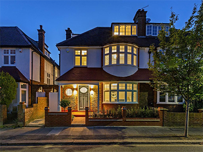 Refurbishment brings a large family home in Wimbledon up to date #CraftedForLife