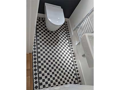 The old classic toilet tiles #CraftedForLife
