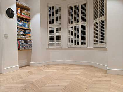 """The floor looks superb and we are delighted with it.""