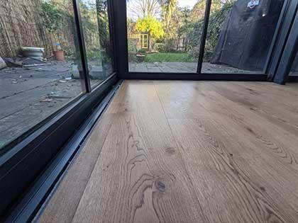 Seamless transition to the bifold garden doors #CraftedForLife