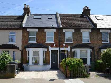 Transformed Victorian terraced house in Beckenham #CraftedForLife