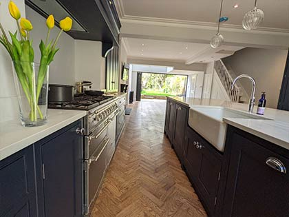 Kitchens especially need to be protected with an extra coat of oil #CraftedForLife