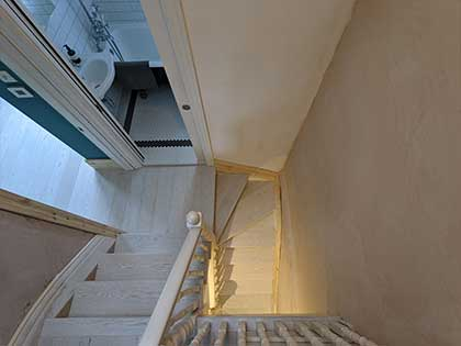 The customers searched online for stair cladding experts and trusted Fin Wood to deliver the project #CraftedForLife