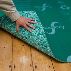 Acoustilay carpet finishes