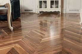 Parquet flooring London chevron pattern parquet professional services from Fin Wood Ltd