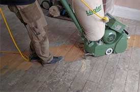 Floor sanding professional services from Fin Wood Ltd