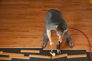 Nailed down Wooden Floor Hardwood or Engineered