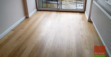 Beautiful Engineered Oak Floor installed in Dulwich