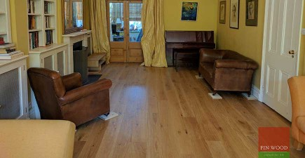 Natural Look Oak Engineered Boards Installation